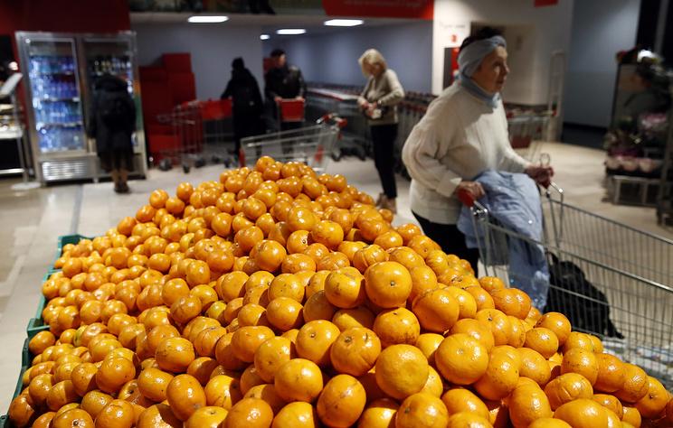 Роспотребнадзор проверяет информацию о якобы зараженных гриппом мандаринах