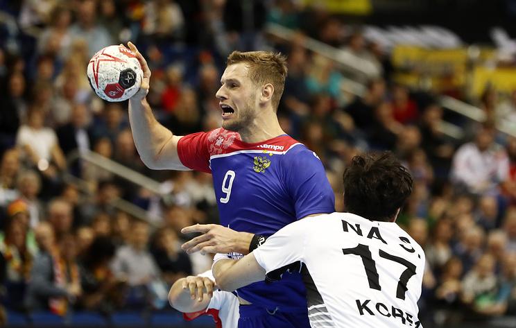 Сборная России победила объединенную команду Кореи в матче ЧМ по гандболу