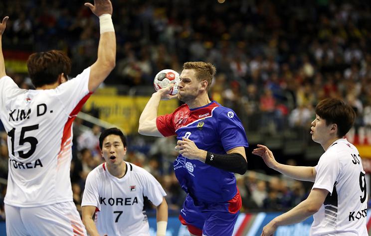 Сборная РФ по гандболу одержала важную победу над корейцами на ЧМ с помощью резервистов