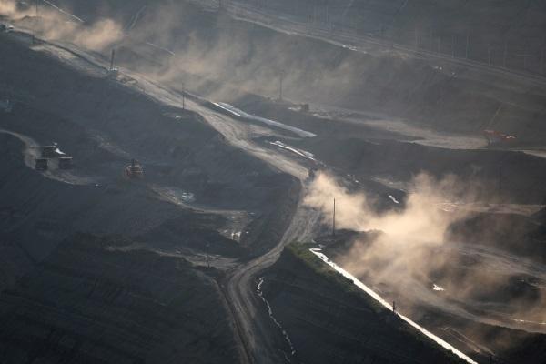 В Китае обрушилась угольная шахта