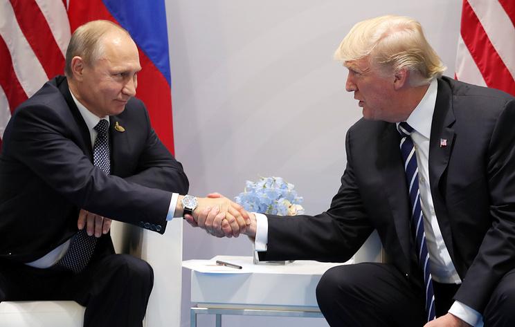 WP: Трамп скрывал детали своей встречи с Путиным в Гамбурге в 2017 году