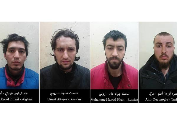 В Сирии задержали боевиков с российским гражданством