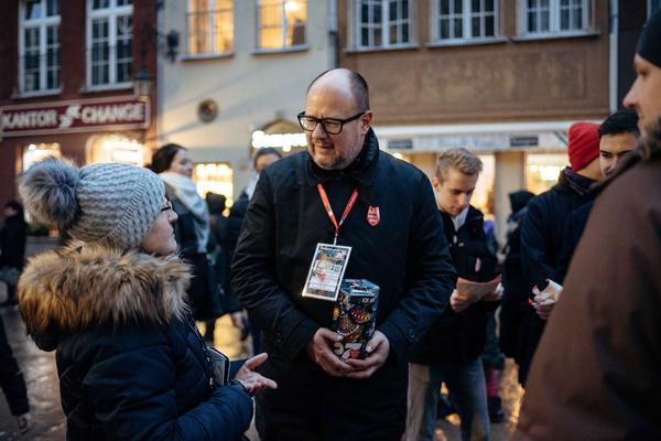 Нападение на мэра польского Гданьска попало на видео