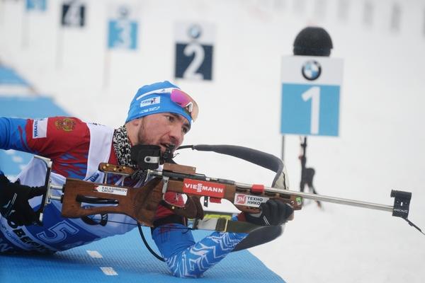 Российские биатлонисты выиграли бронзу в эстафете на Кубке мира
