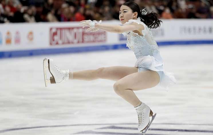 Японская фигуристка Кихира победила на чемпионате четырех континентов