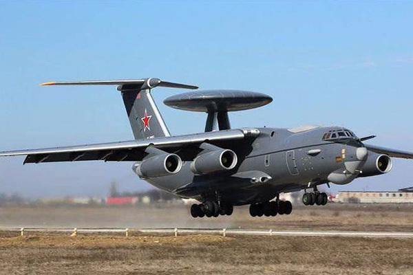 Новый российский летающий радар А-100 совершил первый полет