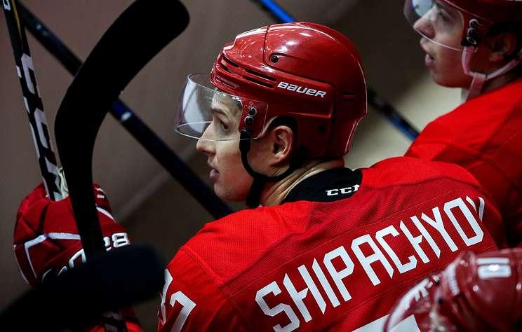 Капитан сборной России Шипачев назвал плохой свою игру на Еврохоккейтуре