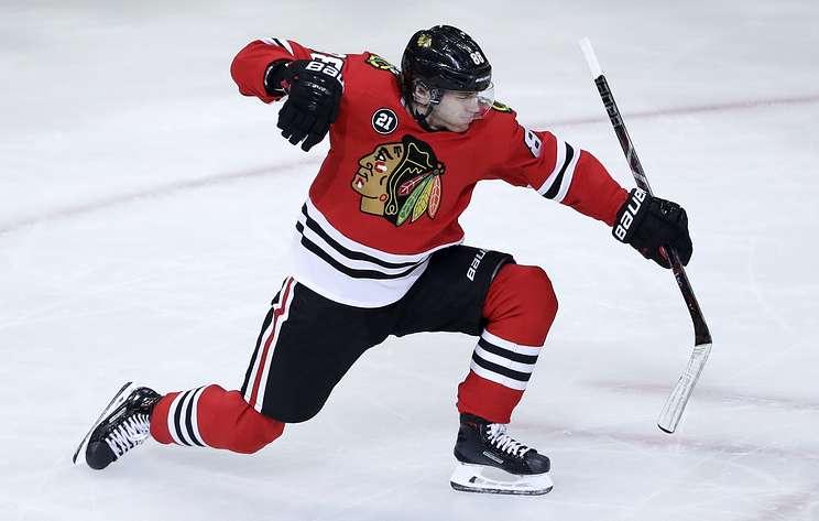 """""""Чикаго"""" обыграл """"Детройт"""" в матче НХЛ. Кейн догнал Кучерова в списке лучших бомбардиров"""