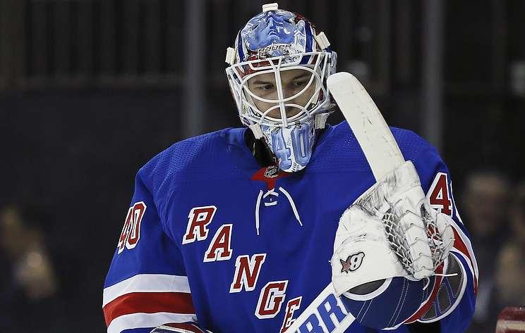 """""""Рейнджерс"""" обыграли """"Торонто"""" в матче НХЛ. Георгиев отразил 55 бросков"""