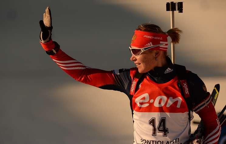 Биатлонистка Глазырина первый после дисквалификации старт проведет 19 февраля в Тюмени