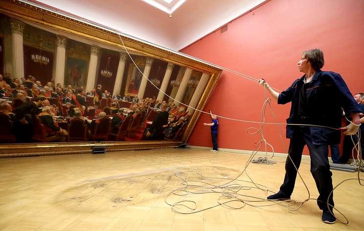 Русский музей на полгода передаст в Третьяковку занимающую целый зал картину Репина