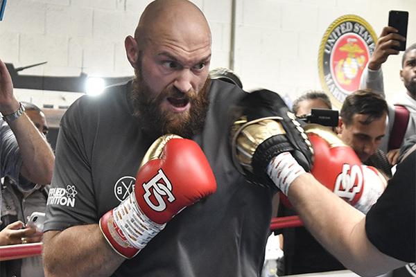 Стал известен гонорар Фьюри за бой-реванш против Уайлдера