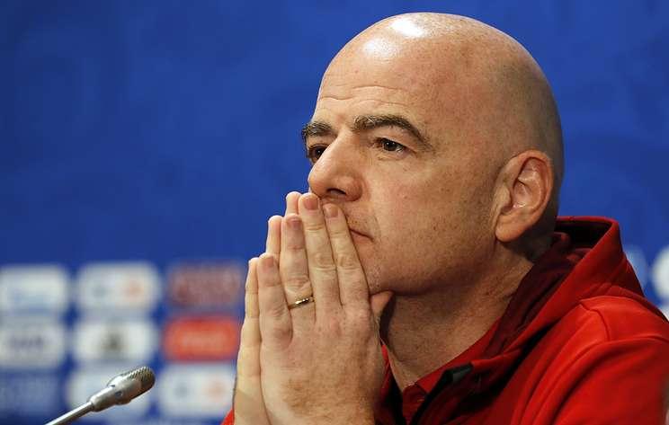 Инфантино выразил соболезнования в связи со смертью чемпиона мира по футболу Бэнкса