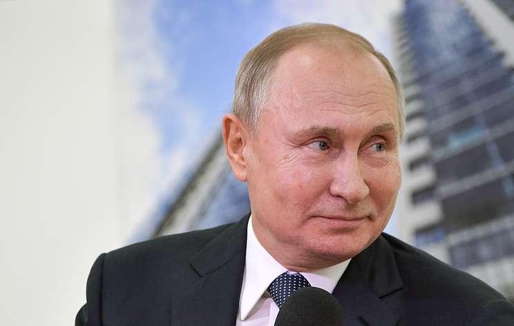 Путин в шутку предположил, что по окончании карьеры президента займется хоккеем
