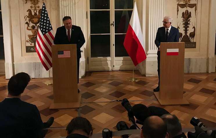 Глава МИД Польши после переговоров с Помпео заявил о схожести позиций с США