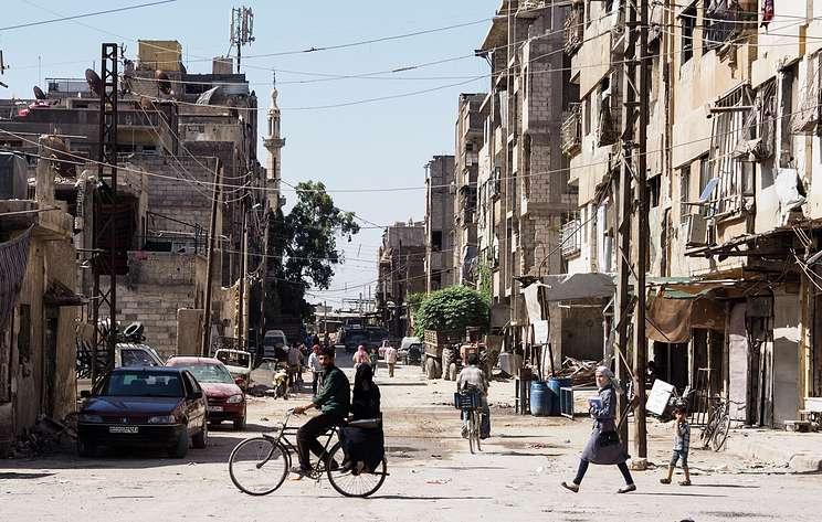 Русская редакция сирийского телевидения возвращается к мирным новостям