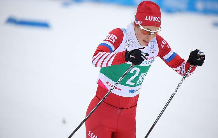 Лыжники Терентьев и Мацокина завоевали золото Универсиады в смешанном командном спринте