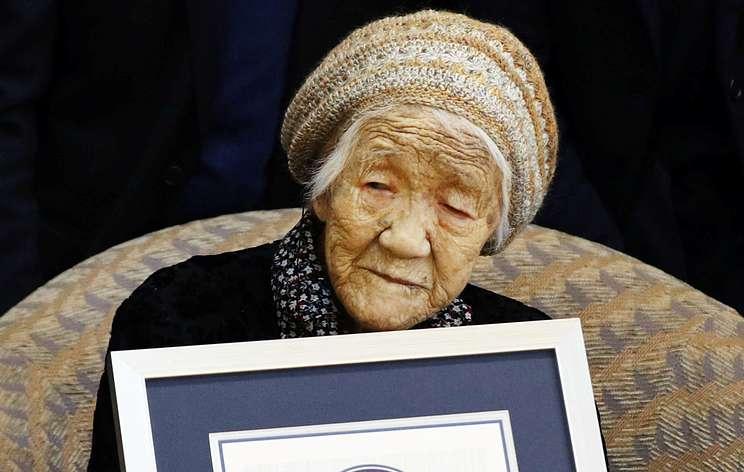 Японку Канэ Танаку официально признали самым пожилым человеком на планете