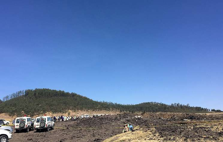На борту разбившегося лайнера в Эфиопии было трое россиян