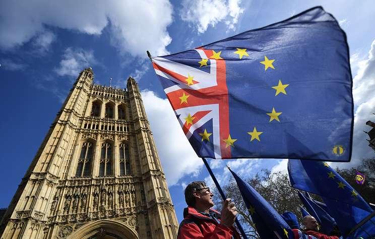 Парламент Великобритании поддержал предложение правительства о переносе Brexit