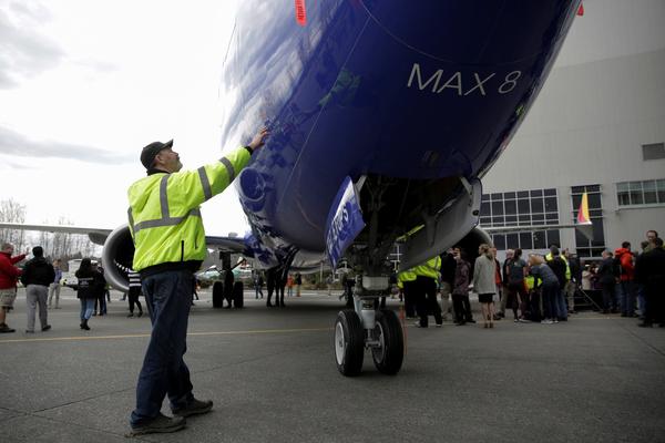 Boeing заморозил поставки 737 MAX