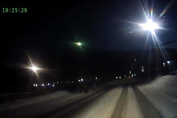 В Сибири заметили похожий на метеорит объект