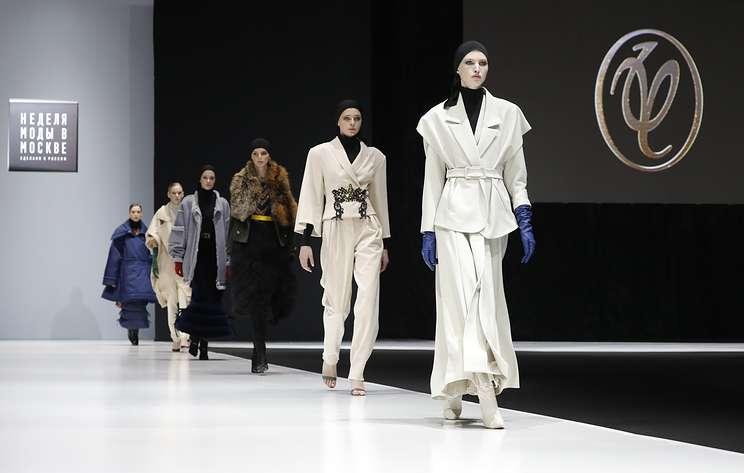 Гала-показ шести ведущих российских модельеров состоялся на Неделе моды в Москве