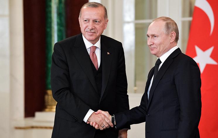Поспорили, но согласились. Путин и Эрдоган договорились о расширении сотрудничества