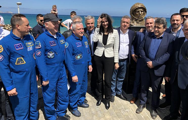 На Крите открыли парк имени Юрия Гагарина