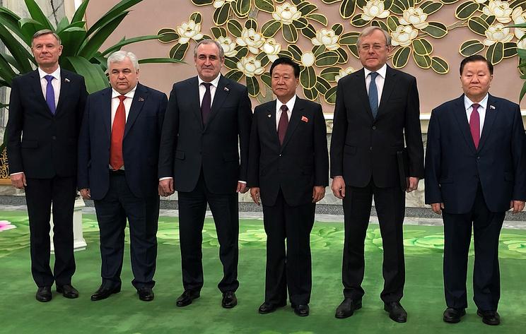 В Госдуме заявили о заинтересованности в активном межпартийном взаимодействии с КНДР