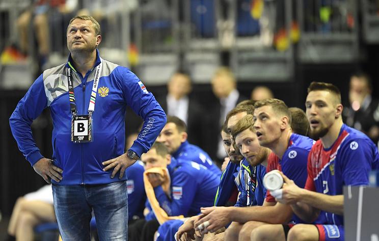 Гандболисты сборной России сыграли вничью с венграми в матче отборочного турнира ЧЕ-2020