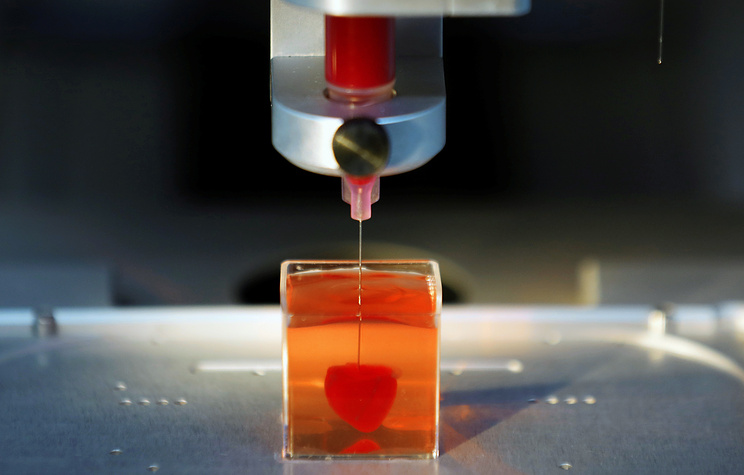 В Израиле напечатали живое сердце на 3D-принтере