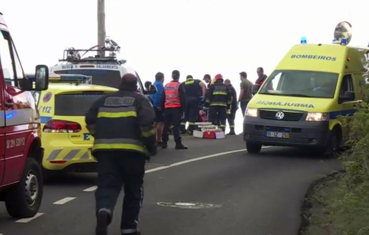 AFP: число жертв ДТП на острове Мадейра возросло до 29