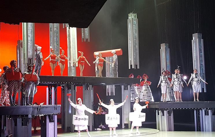 """Пермский театр представил первую на реконструированной сцене премьеру - мюзикл """"Винил"""""""