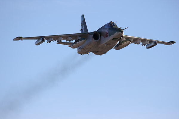 Су-25СМ3 поразит цели «без летчика»