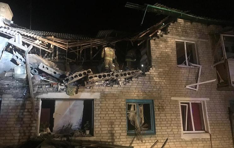 В Ростовской области произошел взрыв бытового газа в жилом доме