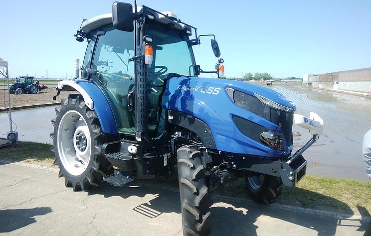 Министрам сельского хозяйства G20 в Японии показали беспилотный трактор