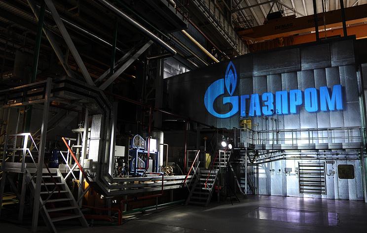 """Цена акции """"Газпрома"""" достигла исторического максимума"""