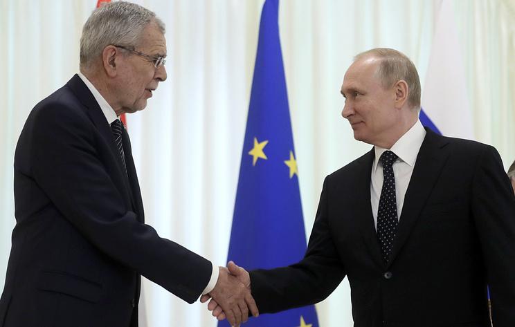 Встреча президентов России и Австрии в Сочи. Видеотрансляция