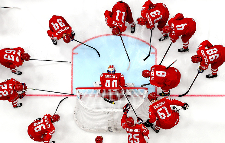 Стал известен состав сборной России по хоккею на матч ЧМ с итальянцами