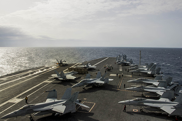 Авианосцам США нашли путь к Крыму