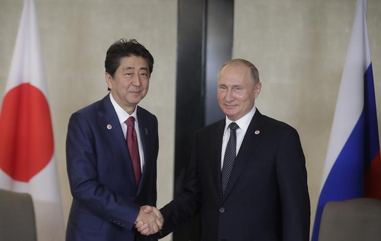 Путин и Абэ встретятся 29 июня на полях саммита G20 в Осаке