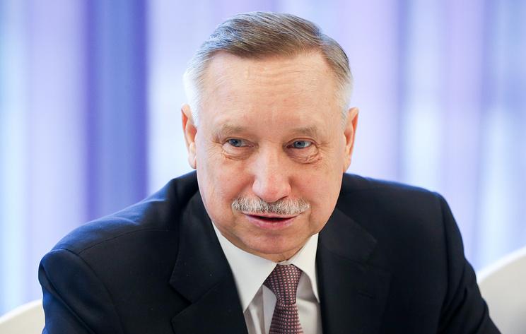 Беглов подал документы для участия в выборах губернатора Петербурга