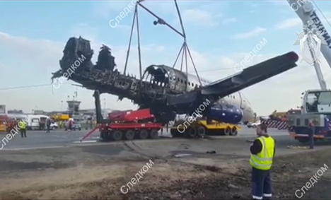 МАК подготовил промежуточный отчет о катастрофе SSJ-100 в Шереметьево