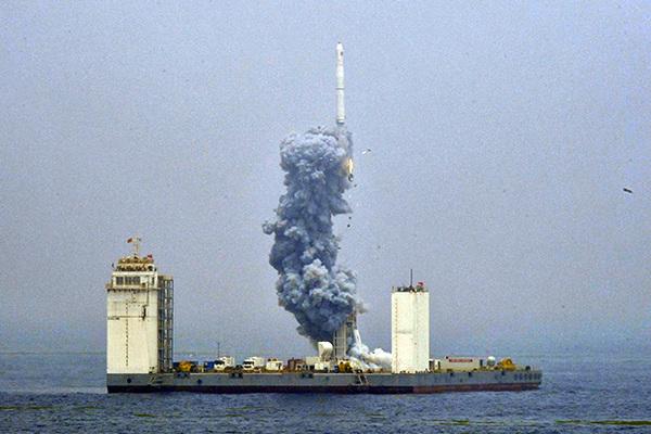 Китай клонировал российский «Морской старт»