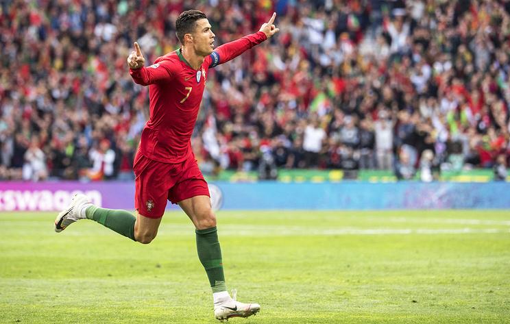 Хет-трик Криштиану Роналду вывел сборную Португалии в финал Лиги наций