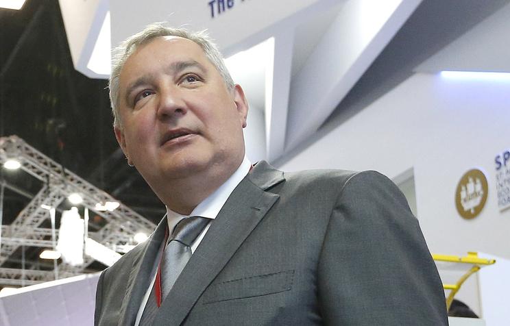 Рогозин показал спутниковые снимки конгрессного центра ПМЭФ-2019
