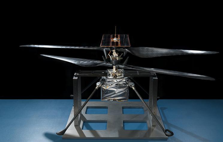 В NASA создали вертолет для демонстрации возможностей полета в атмосфере Марса