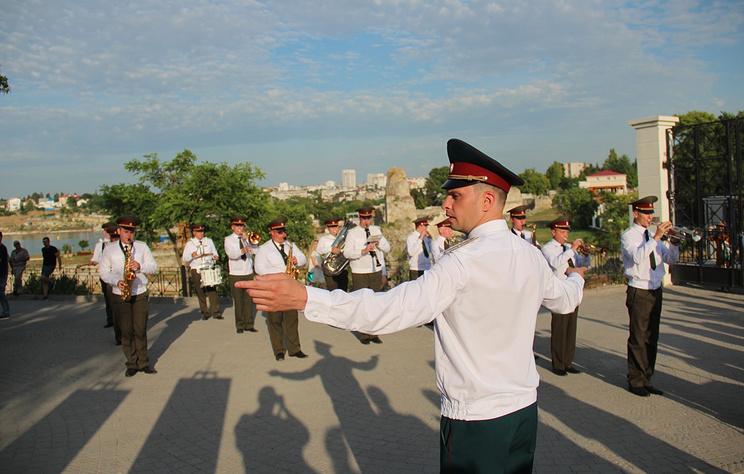 Всероссийский фестиваль военных оркестров Росгвардии проходит в Севастополе