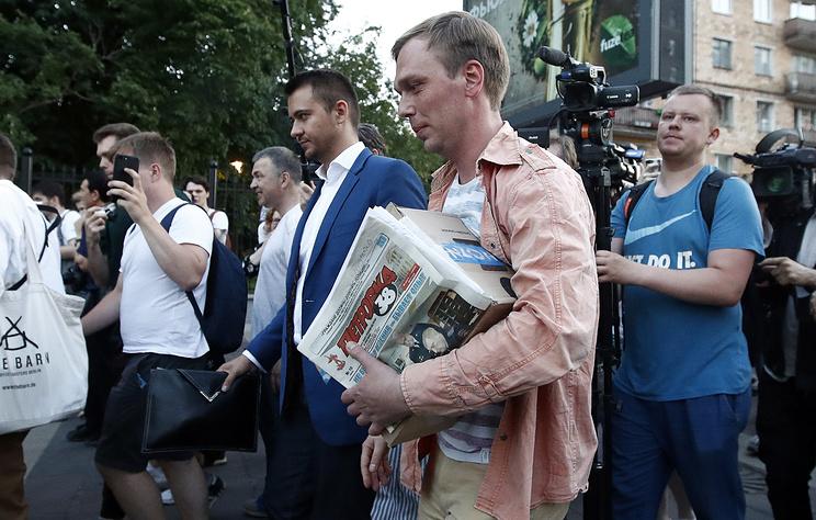 Руководивший задержанием Голунова полковник не опасается уголовного преследования